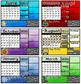 Calendar Interactive Activity Mats 2018-2019