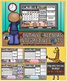 Calendar Interactive Activity Mats 2019-2020