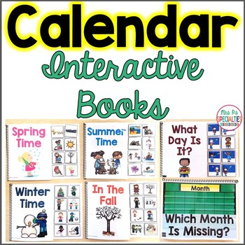 Calendar Interactive Books
