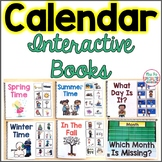 Calendar Interactive Books Adapted For Morning Meeting (Special Ed & Autism)