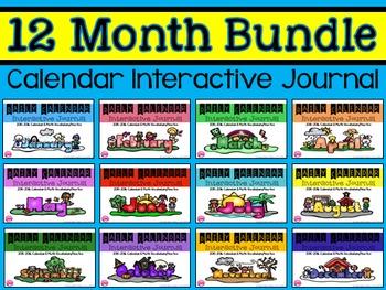 Calendar Journal ~ Bundle