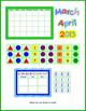 Calendar - Interactive Set