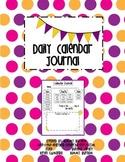 Calendar Journal 2014-2015