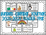 Calendar Journal Bundle (2021-2022 School Year)