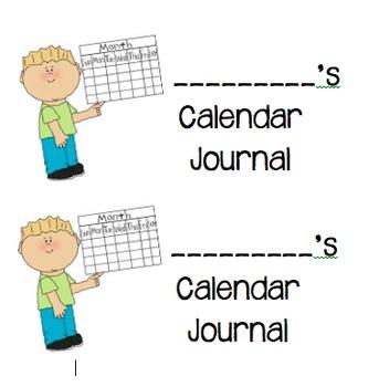 Calendar Journal Labels