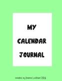Calendar Journal/Calendar Materials