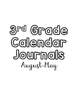 Calendar Journals