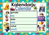 Calendar/Kalendarju