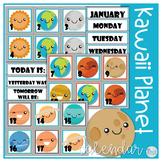 Calendar Kawaii Planets