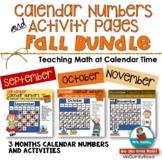 Calendar Keepers - Fall Bundle - September, October and November