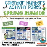 Calendar Keepers and Activities | SPRING BUNDLE | March, April and May