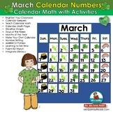 Calendar Keepers for March - Calendar Math Activities