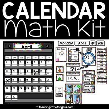 Calendar Math Kit (Calendar Kit)