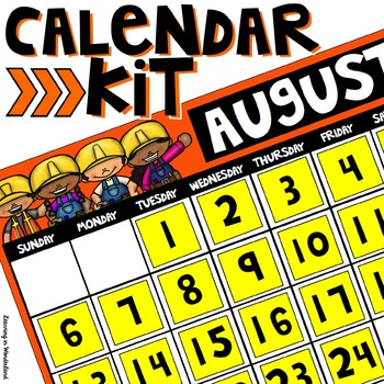 Calendar Kit (Construction Edition)