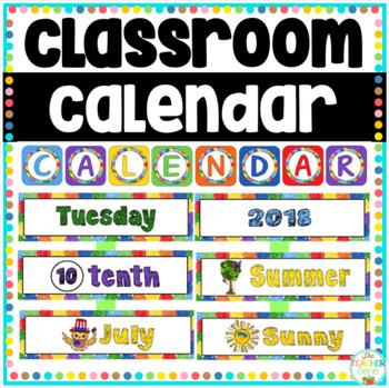 Calendar Kit - Materials