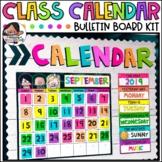 Classroom Calendar Set   Digital Calendar Kit   Decor   Distance Learning