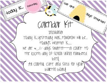 Calendar Kit Part 2!