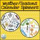 Calendar Labels Bundle - Chevron