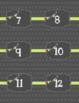 Calendar Labels - Gray - Spanish - Calendario Espanol