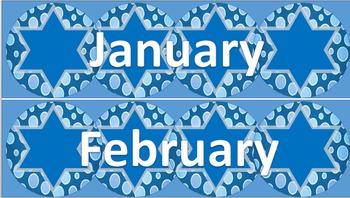 Calendar Labels - January