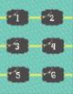 Calendar Labels - Teal - English