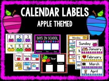 Calendar Labels - Apple Theme