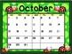 Calendar - Ladybug Theme - School Year Calendar