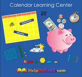 Calendar Learning Center Smartboard