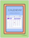 Calendar Learning Express Bag