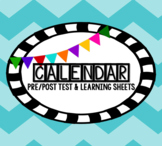Calendar Learning Sheets