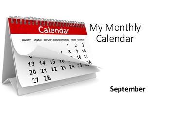 Calendar Lesson