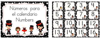 Calendar:  Let's do some magic!: Spanish & English