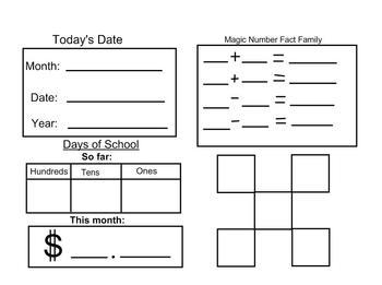 Calendar Math 2 for the Smartboard