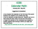Calendar Math 2013