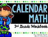 Calendar Math: 3rd Grade Workbook {Everyday Counts Aligned}