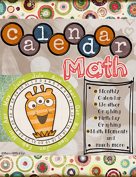 Calendar Math-Aligns with Saxon Math