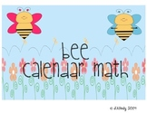 Calendar Math Bee Themed Mega Pack