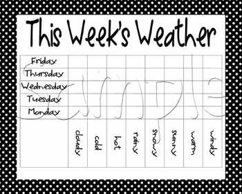 Calendar Math - Black with White Polka Dots