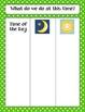 Calendar Math Bulletin Board Headings, Charts, & Graphs - Green/White Polka Dots