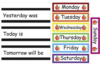 Calendar Math Bulletin Board Set