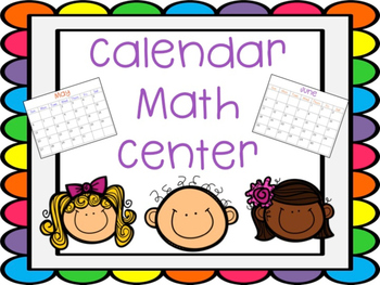 Calendar Math Center