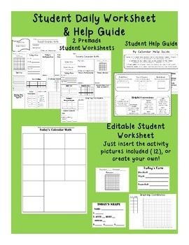 Calendar Math BUNDLE for Daily Math Review