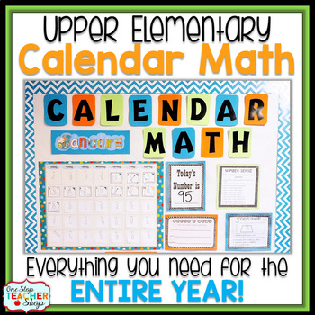 Calendar Math BUNDLE for Daily Math Review
