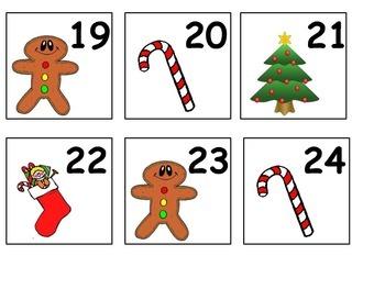 Calendar Math December Days