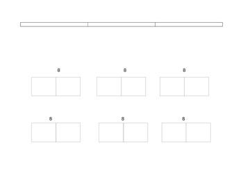 Calendar Math December Template for Folder