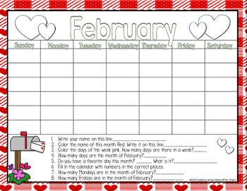 Calendar Math February