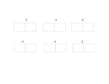 Calendar Math February Template