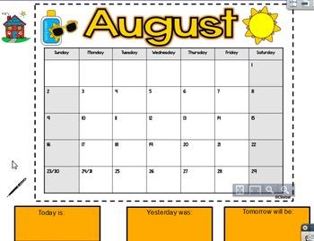 Calendar Math Flipchart- Updated!