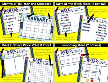 Calendar Math Flipchart for the ENTIRE YEAR