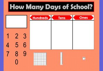 Calendar Math Flipcharts for ActivInspire